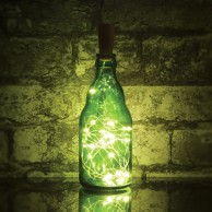 20 Warm White LED Bottle Cork Lights