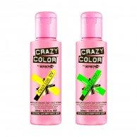 Crazy Colour Semi Permanent UV Hair Cream