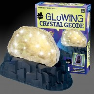 Geek & Co Glowing Crystal Geode Kit