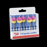 Cupcake Candles (5 Pack)
