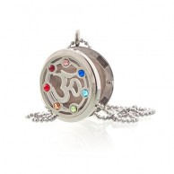 Diffuser Necklace - Om Chakra 30mm (19)