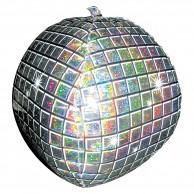 Disco Ball Holographic Ultrashape Foil Balloon
