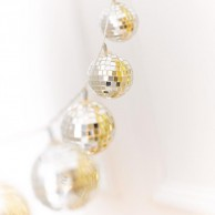 LED Disco Ball String Lights