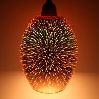 Dohan Antique Copper 3D Glass Pendant Shade (23034)