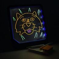 Neon Glow Doodle Pad