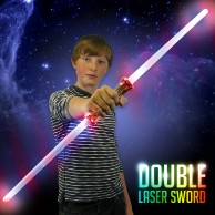 Light Up Double Laser Sword