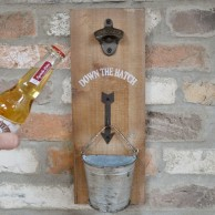 Down The Hatch Bottle Opener
