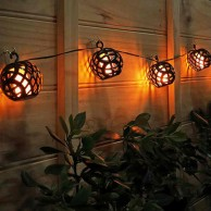 Elan Solar Flame Lights