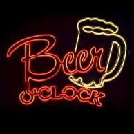 Beer O'Clock EL Light