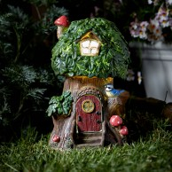 Elfin Oak Solar Fairy Treehouse