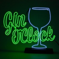 Gin O'Clock EL Light