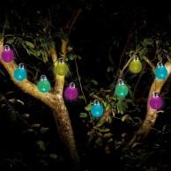 Eureka Crackle Solar String Lights