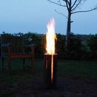 Garden Fire Logs