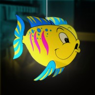 Fish Pendant Light Shade