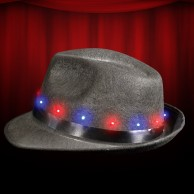 Flashing Fedora Hat Wholesale