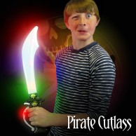 Light Up Pirate Cutlass Sword