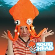 Light Up Squid Hat