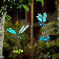 Flutter Glow Springy Pendant