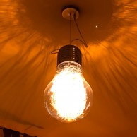Giant Light Bulb Pendant