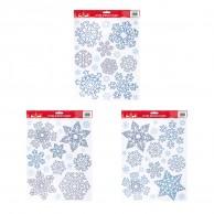 Glitter Snowflake Window Sticker