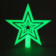 Glow in the Dark Tree Topper Star