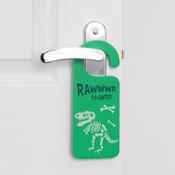 Glow in the Dark Dinosaur Door Hanger