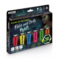 Glow in The Dark Face Paint Boxset