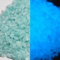 Glow Gravel - Blue