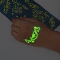 Glow in the Dark Hand Tattoos