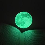 Small Glow Moon Light Wall Stickers