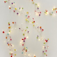 Hearts Battery Operated Fairy Lights