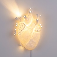 Seletti Heart Wall Lamp