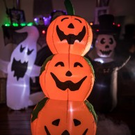 Inflatable Three Pumpkin Stack