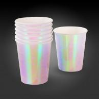 12 Iridescent Paper Cups