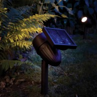 Intelligent Solar Lunar 50 Lumen Spotlight