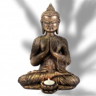 Large Buddha Tealight Holder