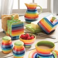 Rainbow Ceramics Breakfast Essentials