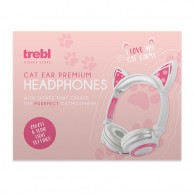 Led Cat Ear Wired Headphones
