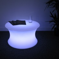 LED Mood Curved Table