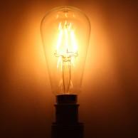 LED Squirrel Cage 6W B22 Bulb (LRB3-B22)