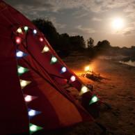 Light Up Bunting - 8 Illuminated Flags