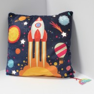 Rocket Light Up Cushion