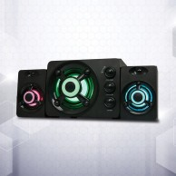 Zeta Light Up Gaming 2.1 Sound System