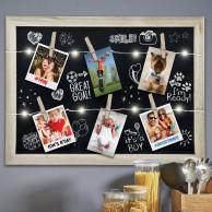 Light Up Photo Clip Chalk Board