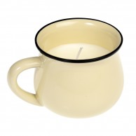 Lime & Bayleaf Scented Mug Candle