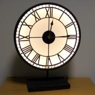 Back Lit Westminster Clock