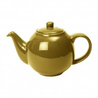 Gold Globe Teapot by London Pottery