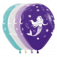 25 x Mermaid Balloons