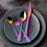 Mikasa Iridescent Stainless Steel Cutlery Set (16 Pieces)