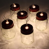 Mini Mason Jar Fairy Lights